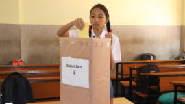Election for Head Boy and Head Girl